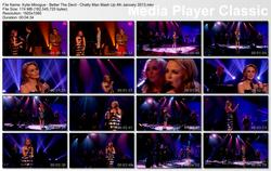 Kylie Minogue - Better The Devil - Chatty Man Mash Up 4th January 2013