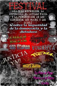 23 de Marzo Las Manos De Filippi  en Plaza de Mayo !!!