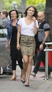 Keri Russell at ITV Studios in London 07-15-2014 (not HQ)