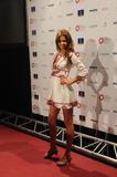 Miranda Kerr arrives at Gran Canaria Moda Calida in Las Palmas