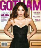 Jessica Alba Sexy In Black In Gotham Magazine Pictures