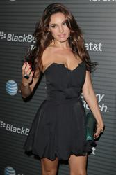 Kelly Brook cleavagy at the U.S. Launch Party For The New BlackBerry Torch - Hot Celebs Home
