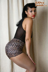 Elisha Jade - Tease in leopard and see thru: image 16