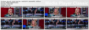 "ALEX WITT - ""MSNBC News Live"" (March 20, 2009) - *legs*"
